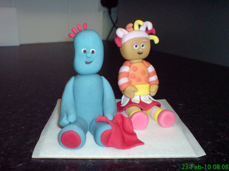 Iggle Piggle Birthday Cake Topper