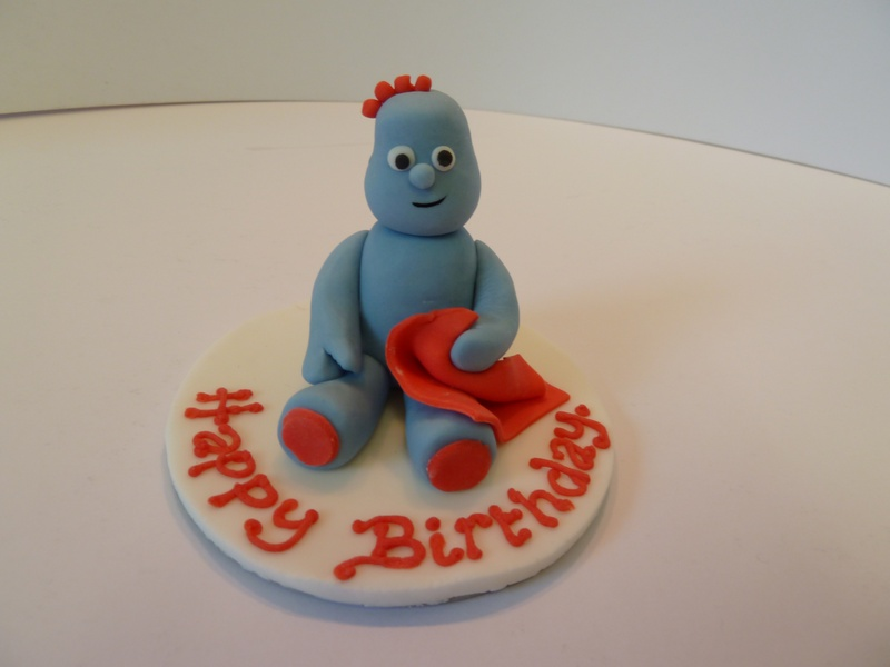 """edible Iggle Piggle 4"""" cake topper £8.95 - Becky's Scilly ..."""